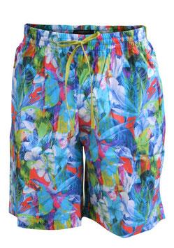 Perofil Bermuda Cotone Stampa Multicolor