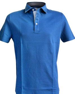 -30% Polo Uomo  Gran Sasso Blu Profili Mako