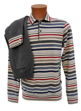-20%Perofil Pigiama Polo Soft Cotton Riga Multicolor