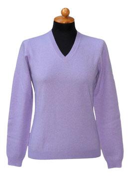 -40% Solo tg.44 Pullover Gran Sasso Donna Cashmere Lana Viscosa Glicine