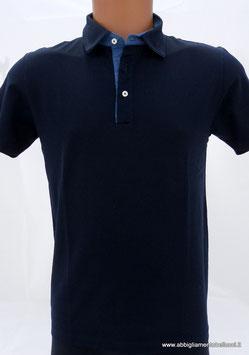 -30% Polo Uomo  Gran Sasso Blu/Denim Cotone