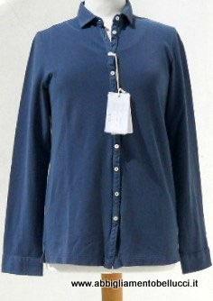 -50% Gran Sasso  Vintage Donna Twin Set Cotone Manica Lunga