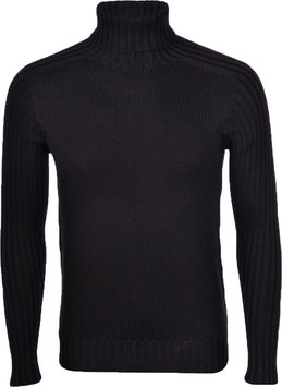 -35% Gran Sasso Solo tg.54  Dolcevita Uomo Rain Wool Nero