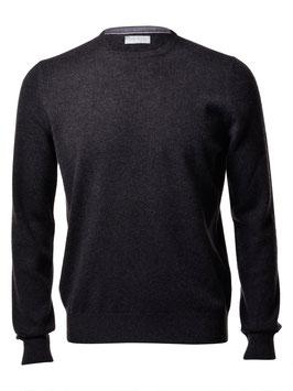 -20% Maglione Gran Sasso Puro Cashmere Antracite Slim Fit