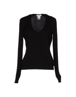 -30% Pullover Gran Sasso Donna Nero Cashmere e Lana Nero