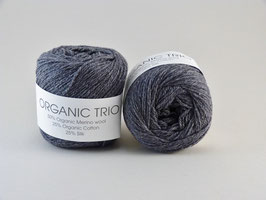 Hjertegarn Organic Trio Fb 5032 Dunkles Grau