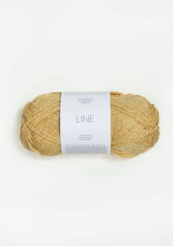 Sandnes Line Farbe 2113 Strohgelb
