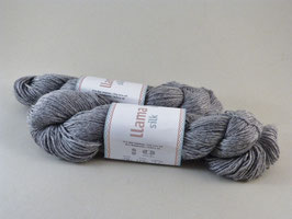 Järbo Llama Silk Fb 12207 Silbergrau Melange