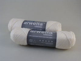 arwetta classic Fb 101 wollweiß/natural white