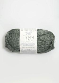 Sandnes Tynn Line Farbe 8561 Staubgrün