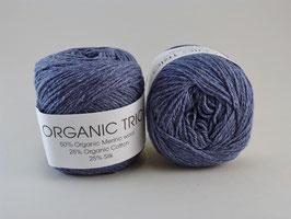 Hjertegarn Organic Trio Fb 5034 Jeansblau dunkel