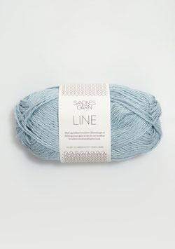 Sandnes Line Farbe 5930 Hellblau