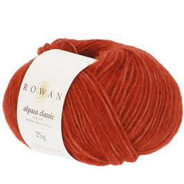 Rowan Alpaca Classic Farbe 119 Copper Clay