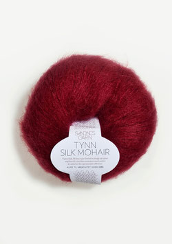Sandnes Tynn Silk Mohair Fb 4236 Dunkles Rot