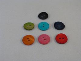 Knopf aus Agoya-Perlmutt 15mm