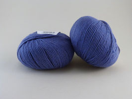 Lana Gatto Camel Hair Fb 8404 mittleres Blau