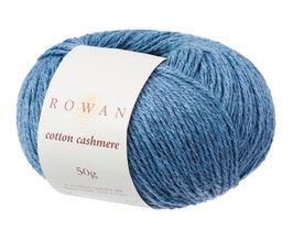 Rowan Cotton Cashmere Farbe 223 Harbour Blue
