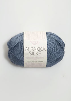 Sandnes Alpakka Silke Farbe 6052 Jeansblau