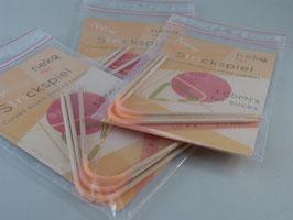 Neko Bambus - Flex Edition 3-Nadel-Strickspiel 3,5mm 2. Generation