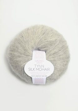 Sandnes Tynn Silk Mohair Fb 1022 Helles Grau