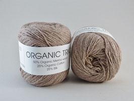 Hjertegarn Organic Trio Fb 5007 Sand/Beige