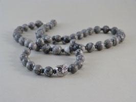 Armband und Halskette - Jaspis-Hämatit