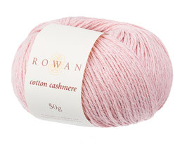 Rowan Cotton Cashmere Farbe 216 Pearly Pink