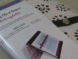 """KnitPro Magnetmappe für Mustervorlagen klein """"Amber Black"""""""