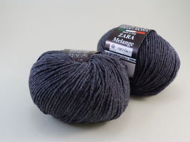 Filatura di Crosa Zara melange Farbe 1468 Grau/grigio medio
