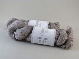 Järbo Llama Silk Fb 12203 Leinen dunkel Melange