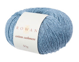 Rowan Cotton Cashmere Farbe 222 Faded Denim