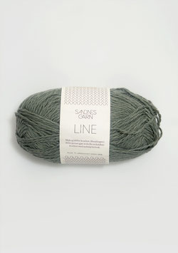 Sandnes Line Farbe 8561 Staubgrün