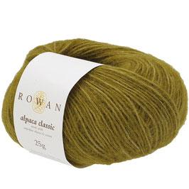 Rowan Alpaca Classic Farbe 111 Green Moss