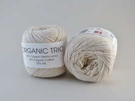 Hjertegarn Organic Trio Fb 5012 Wollweiß