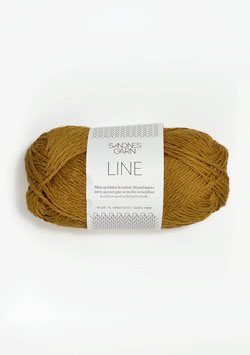 Sandnes Line Farbe 2146 Curry