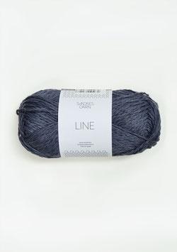 Sandnes Line Farbe 6061 Dunkles Blaugrau