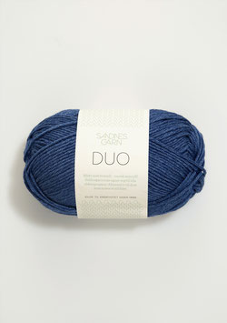 Sandnes Duo Farbe 5864 Blau