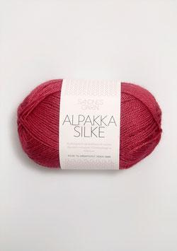 Sandnes Alpakka Silke Farbe 4327 Kirschrot