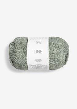 Sandnes Line Farbe 8521 Helles Staubgrün