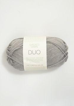 Sandnes Duo Farbe 6030 Helles Grau