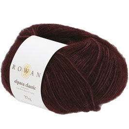 Rowan Alpaca Classic Farbe 122 Dark Burgundy