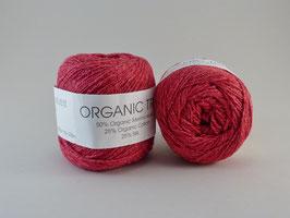 Hjertegarn Organic Trio Fb 5030 Kirschrot