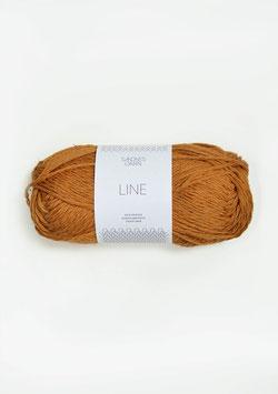 Sandnes Line Farbe 2527 Ocker
