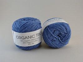 Hjertegarn Organic Trio Fb 5004 Jeansblau