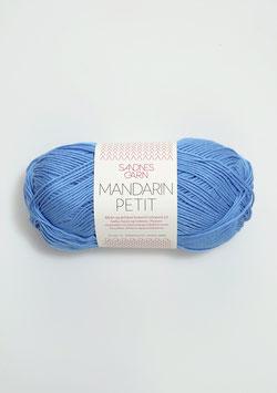 Sandnes Mandarin Petit Farbe 6015 mittleres Blau