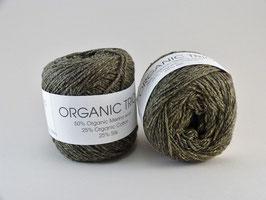 Hjertegarn Organic Trio Fb 5027 Oliv