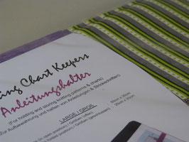 """KnitPro Magnetmappe für Mustervorlagen groß """"Greenery"""""""