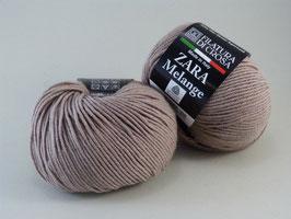 Filatura di Crosa Zara melange Farbe 1641 Sand/Brown