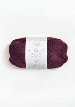 Sandnes Alpakka Silke Farbe 4372 Burgunder