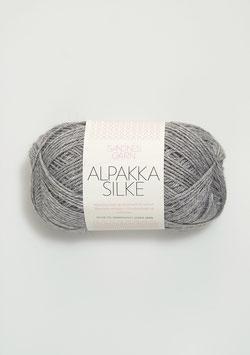 Sandnes Alpakka Silke Farbe 1042 Silbergrau